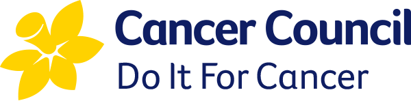 Cancer Council logo.